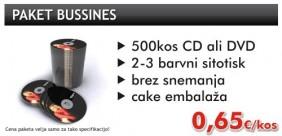 Paket bussines (CD/DVD tisk)